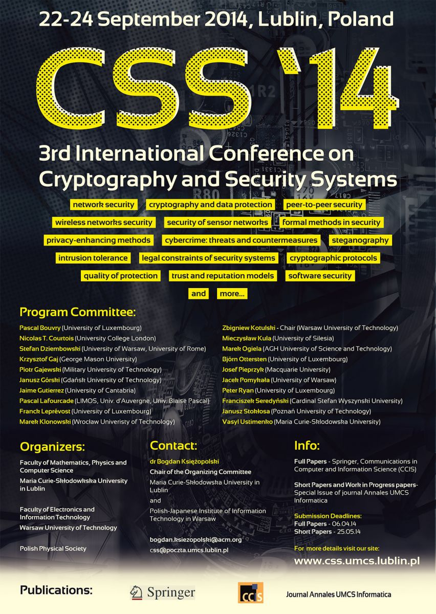 cryptography research papers Cryptography research papers history help coming up with a thesis statement april 12, 2018 well i finished my questions for college, wrote a mini essay from them.
